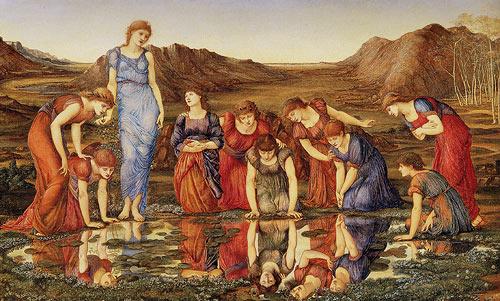 Le Miroir de Vénus Edward Burne-Jones