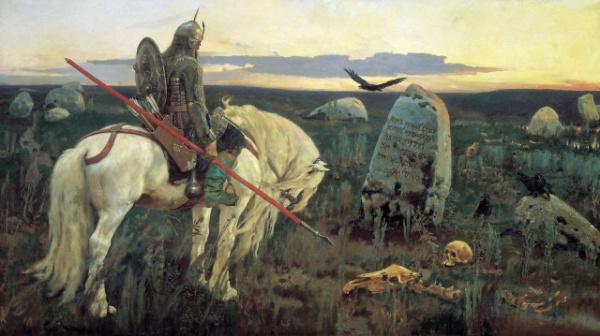 Le chevalier à la croisée des chemins, Victor Vasnetsov