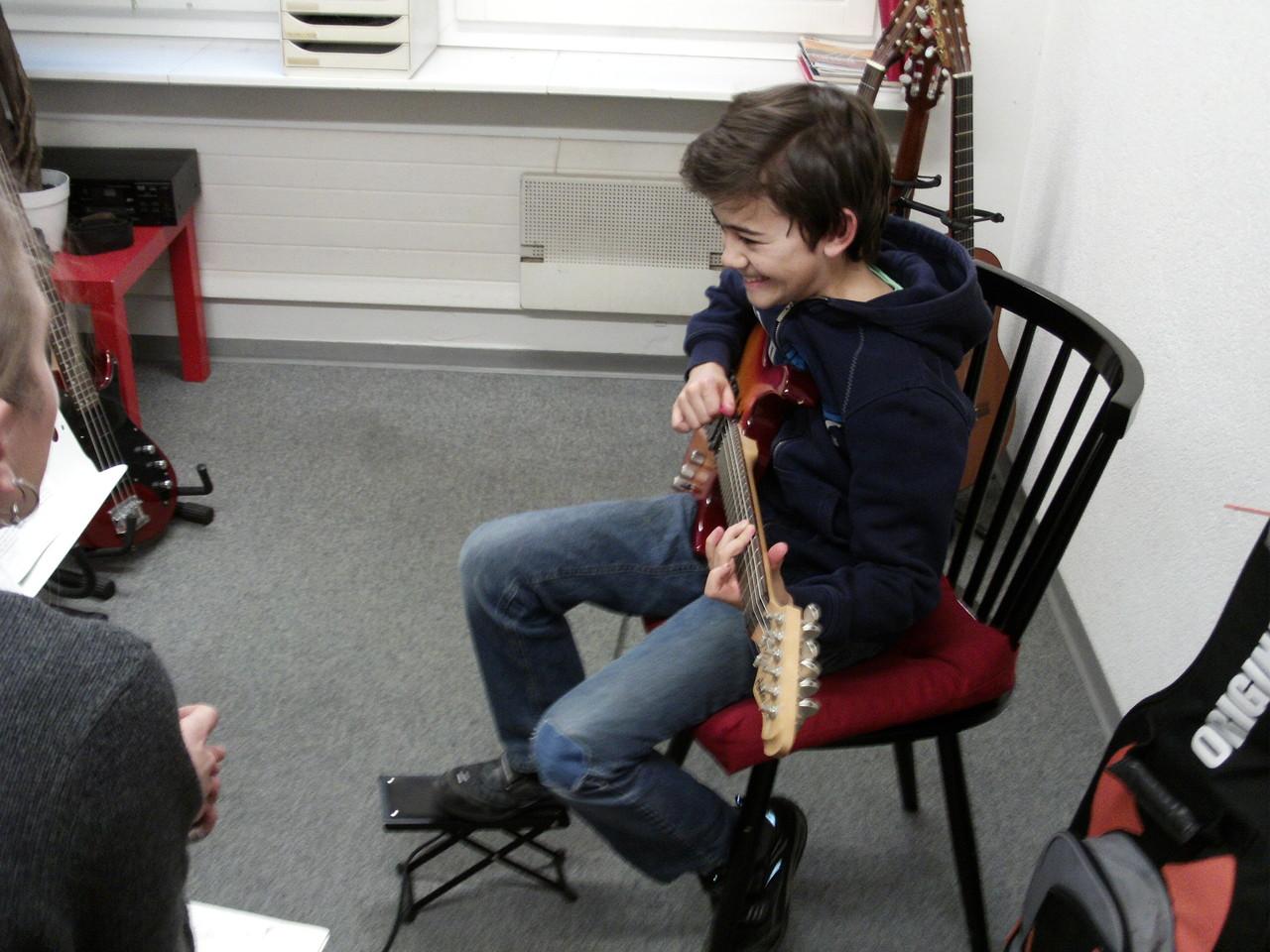 E-Gitarren Einzelunterricht