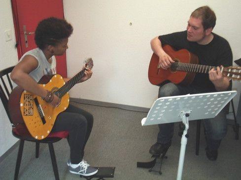 Classic Latin Gitarren Unterricht