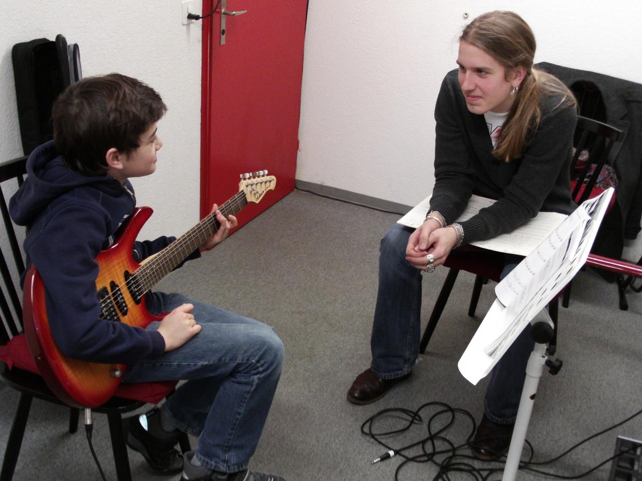 E-Gitarren Unterricht