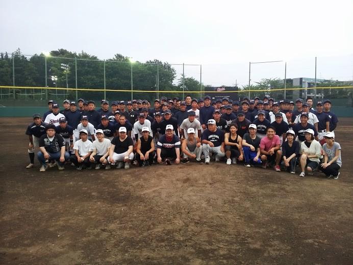 大学生との野球交流会