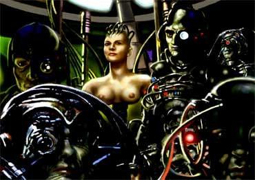 CYBEREGINA, di A.Molino. Elaborazione digitale. Da FOCUS, 2007