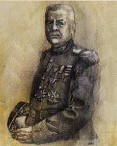 LUIGI II (1870-1949), IN UNIFORME DA GENERALE DELL'ESERCITO FRANCESE, di A.Molino.