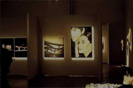 DEMI & ASHTON, di A.Molino. Olio su tela. Finalista al Premio Arte 2006.