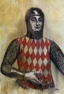 RANIERI I (ca.1267-1314), AMMIRAGLIO DI FRANCIA E SIGNORE DI CAGNES, di A.Molino.