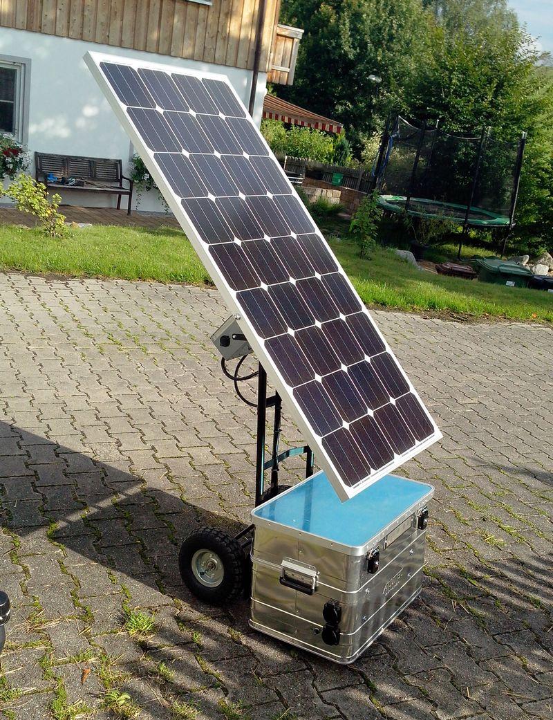 lightcatcher 2000w 200ah voltsonne mobile solaranlagen. Black Bedroom Furniture Sets. Home Design Ideas