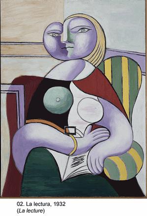 Mujer en lectura