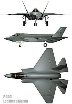 Lockheed Martin F-35 C Lightning II