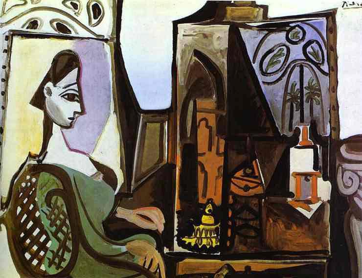 Mujer en el taller