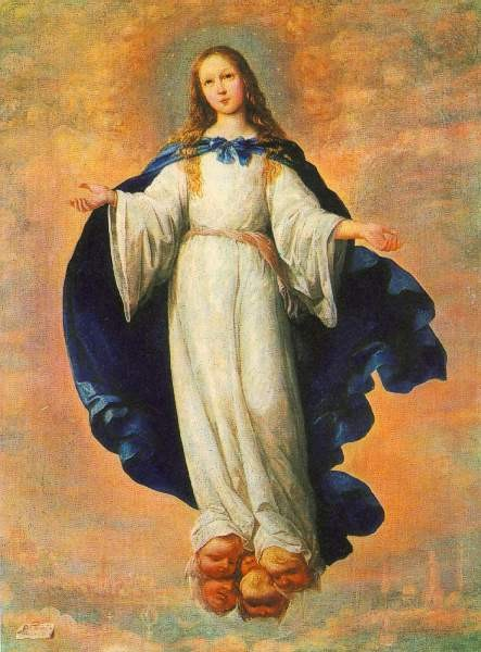 Zurbaran La Inmaculada Concepción 2