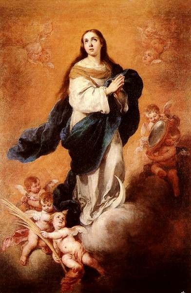 Pintura de Murillo Inmaculada 2