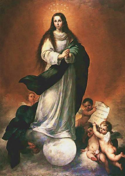 Pintura de Murillo Inmaculada 3