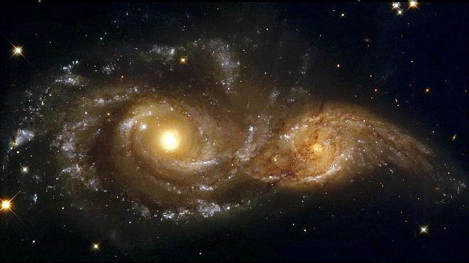 Colisión de Galaxias