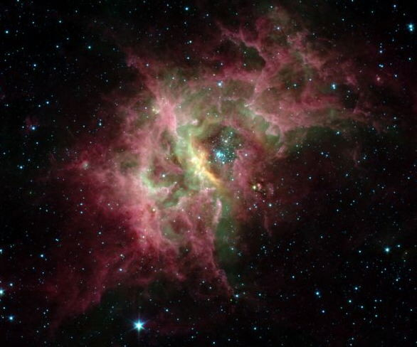 Nebulosa RCW39 Zona en obra