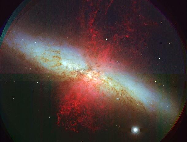 Galaxia Cigarro M82