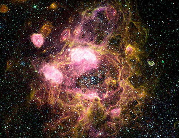 Nebulosa N11 los Anillos