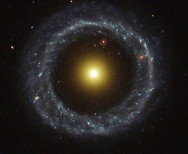 Galaxia Hoag