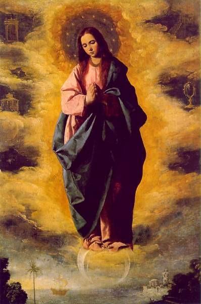 Zurbaran La Inmaculada Concepción