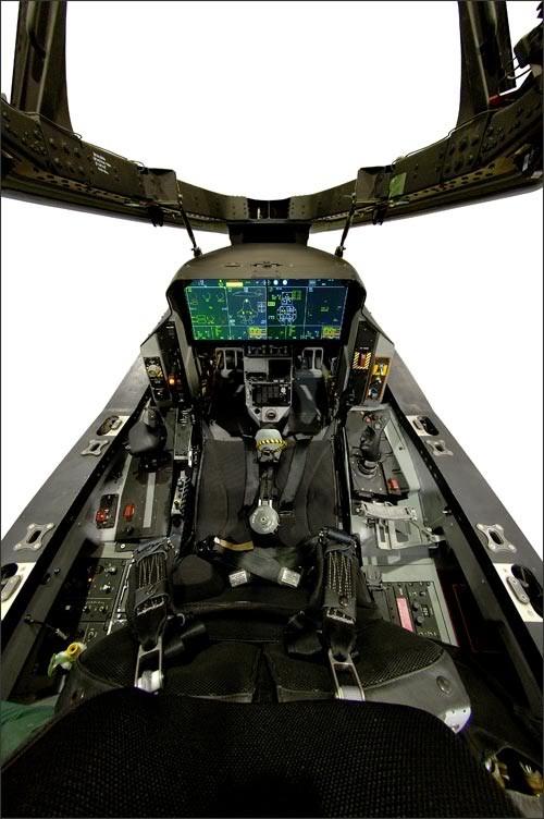 Cabina Lockheed Martin F-35 Lightning II