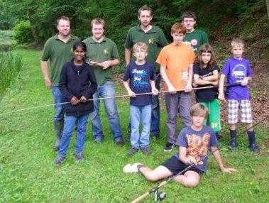 Angeln lernen bei der Jugendgruppe des Angelclub Wißmar e. V.