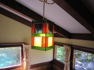 客室のランプ