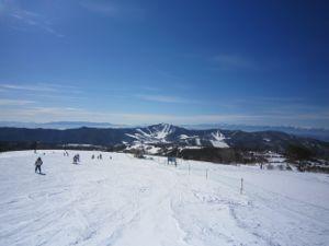 菅平高原スキー場奥ダボス