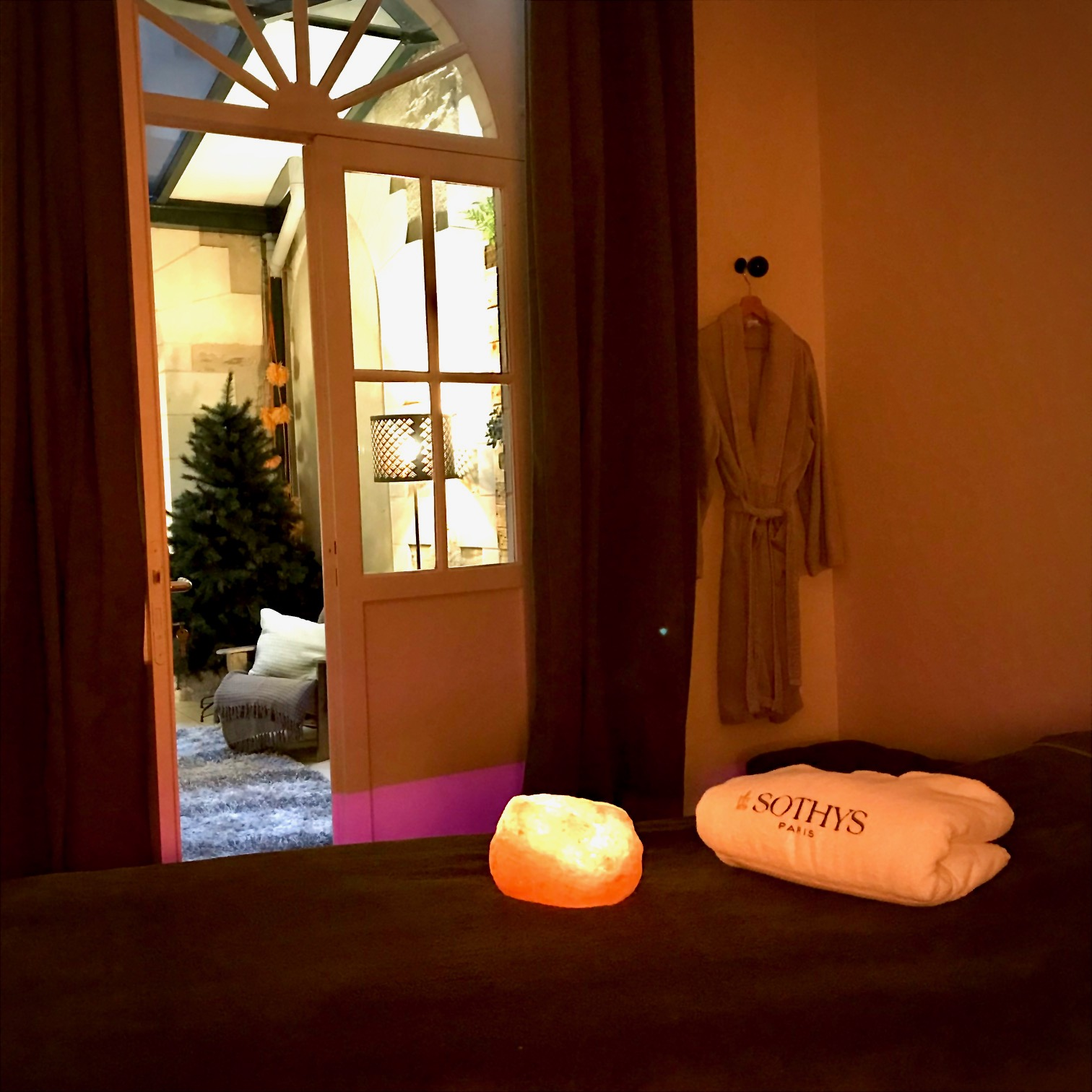 cabine massage Le Patio des capucines