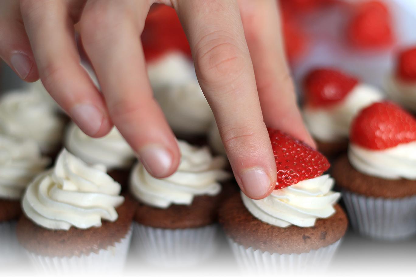 1 cupcake standard correspond environ à 3 mini cupcakes