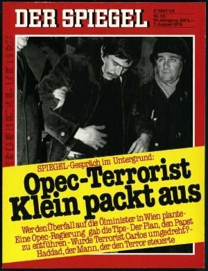 Titel zum OPEC-Attentat: Spiegel 32/1978, 7.8.1978
