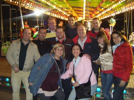 Familia Garcia en la Feria de Algeciras