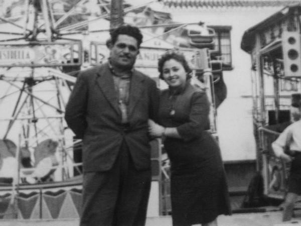 D. Miguel Bañuls y esposa