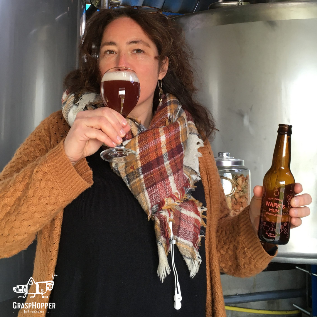 Des bières locales by Tête Chargée