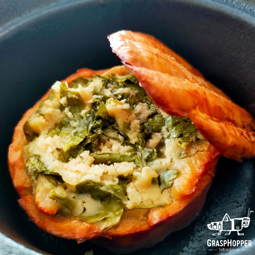 2 recettes avec Omage : First Snow rôti au four et bouchée fruitée au Garlic Galore