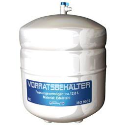 Bestwater Wasserfiltersystem 12 Liter Edelstahltank im Lieferumfang