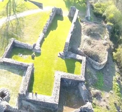 Eglise (ruines), Saint Symphorin de Domfront
