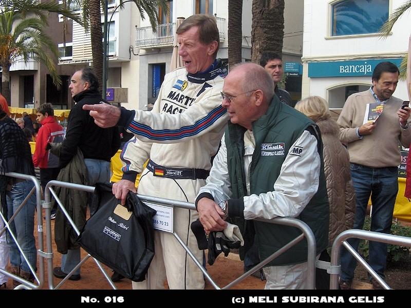 Rallye Costa Brava 2009 im Gespräch mit Walter Röhrl