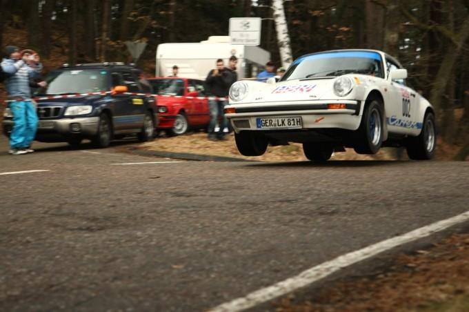 Rallye Südliche Weinstrasse 2013 im Vorwagen