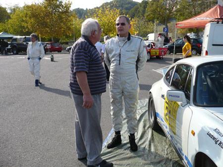"""Rallye Costa Brava 2009 im Gespräch mit Service-Mechaniker """"Heini"""""""