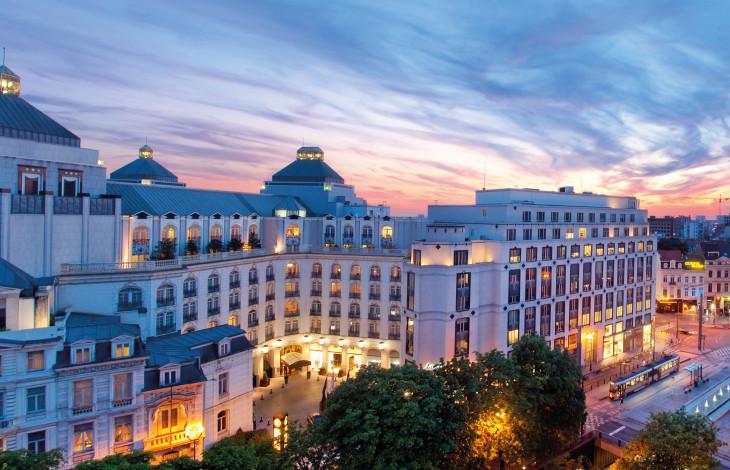 The steigenberger grandhotel brussels best hotel in for Top design hotels europa