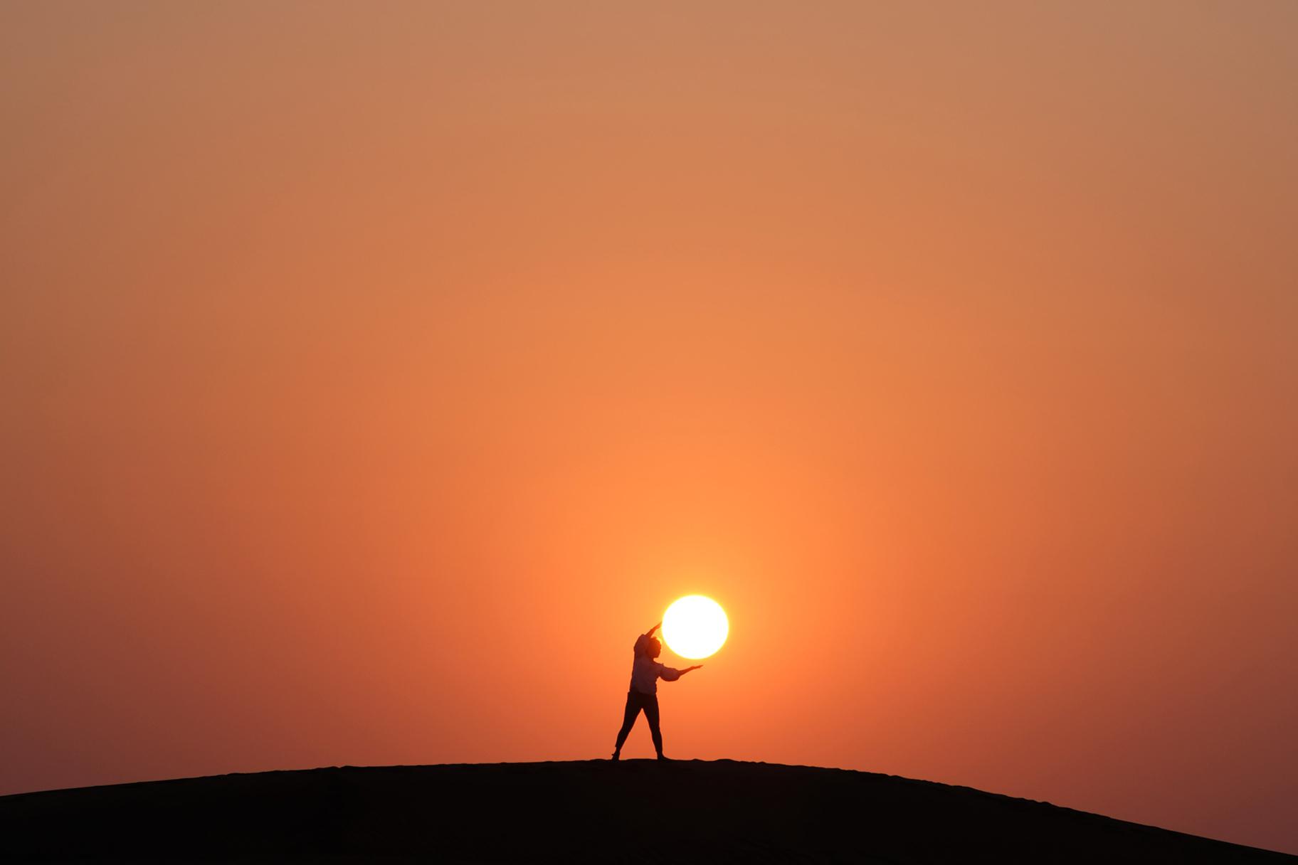 Die Sonne setzt einen neuen Rekord