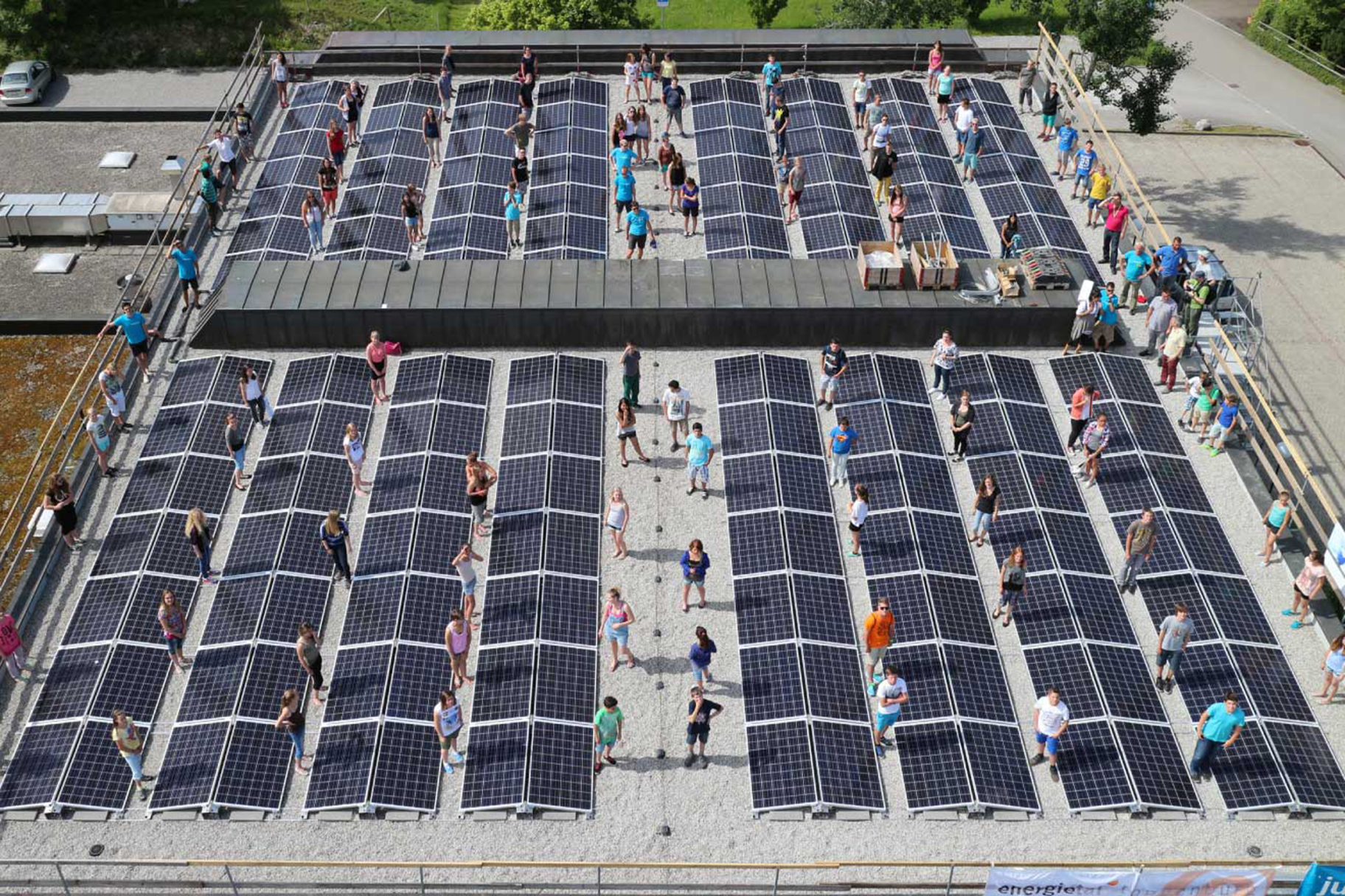 Jugendliche wollen Ihr Dach!