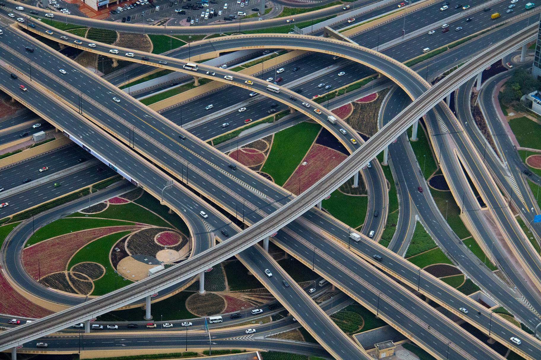 Solarstrom von der Autobahn
