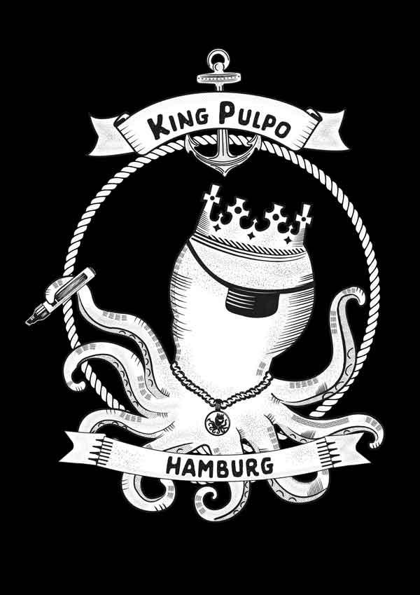 King Pulpo of Hamburg