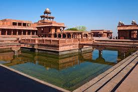 Fahtehpur Sikri Buland Darwaza - das größte Siegestor von Asien