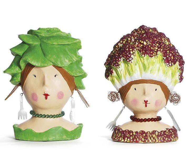 Salat Köpfe von Baden