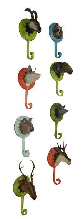 Wandhaken Tiermotiv Forrest von Pape,garderobenhaken tiere
