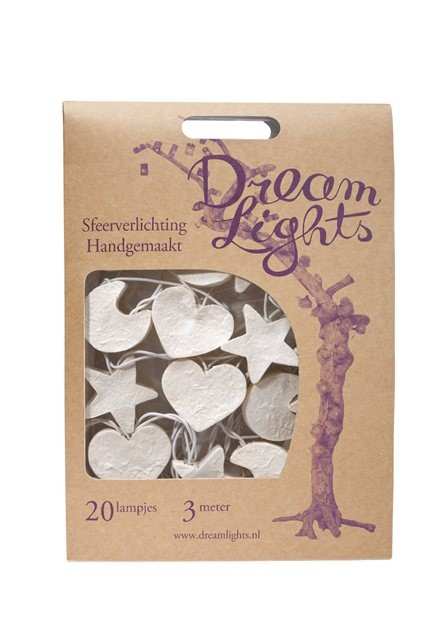 Dream Lights Stern Mix weiß