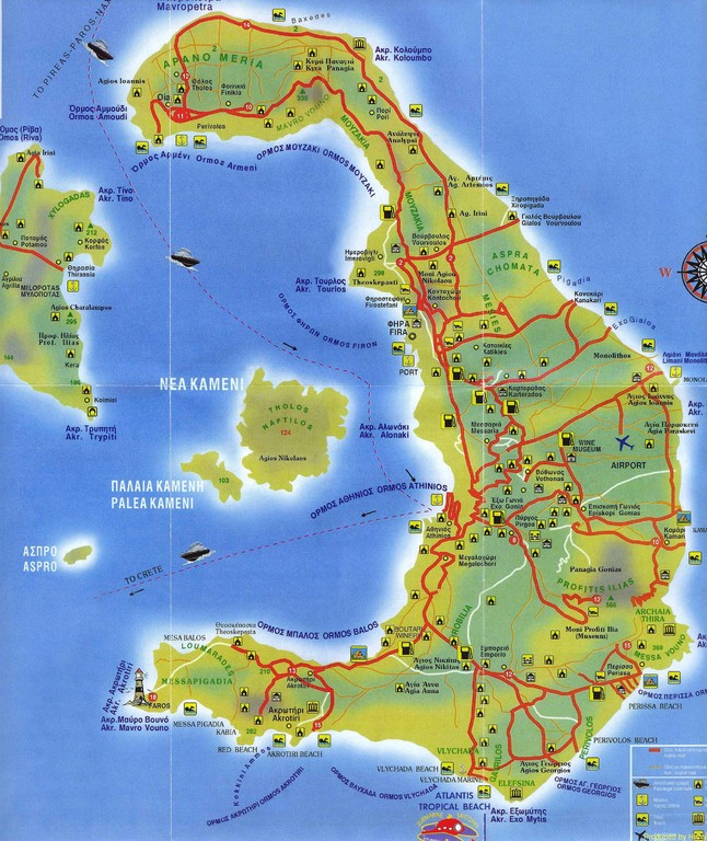 Santorin - ein ehemaliger Vulkan