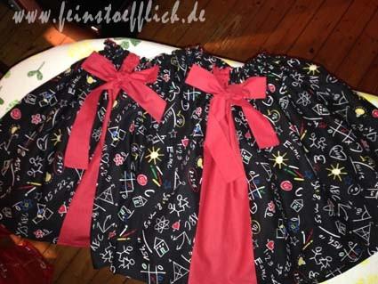 Einschulungsröcke für die Freundinnen vom Tochterkind